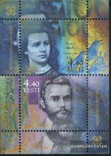 Estonia Bloque 17 (completa.edición.) nuevo con goma original 2002 corona