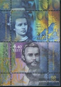 Estonia block17 (complete.issue.) unmounted mint / never hinged 2002 Crown