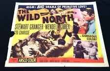 """RCMP CANADIAN ADVENTURE """"WILD NORTH"""" (1952) COLORFUL MGM ACTION HS-A - VG!"""