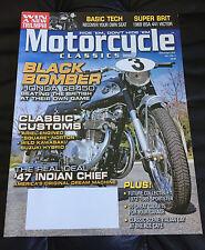Motorcycle Classics Magazine March April 2010 Honda CB450 441 Victor Indian
