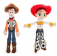 Official Disney Store Soft Mini Bean Bag WOODY & JESSIE Bundle Toy Story 35cm