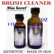 Mia Secret Brush Cleaner - 2 oz - Made in USA! Nail Brush Cleaner Liquid