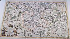 Le Marquisat et Eslectorat de Brandebourg Map Jaillot 1692 Original Kupferkarte