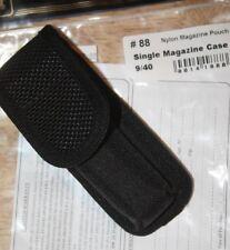 Houston SINGLE MAGAZINE CASE 9/40 Nylon Belt OWB #88 Outside the Waist Belt Loop