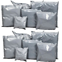 Strong Grey Plastic Mailing Postal Bags Poly Postage Self Seal Full Range