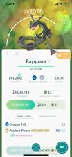 Pokemon GO Shiny RAYQUAZA / rare legendary / REGISTERED 20k dust