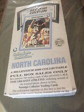 Micheal Jordan North Carolina Tar Heels Millennium 2000 Nostalgic Collection