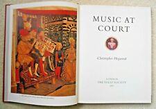 Christopher Hogwood 'Music at Court' Folio Society 1977
