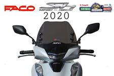 Cupolino Basso Sport Fume' Scuro con Aste Nere FACO Honda SH 125 150 i abs 2020
