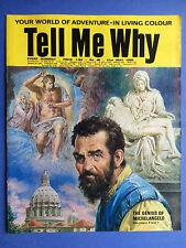 TELL ME WHY - The Genius de Michelangelo - N°40 - May 1969