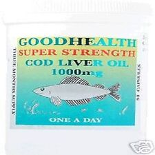 COD LIVER OIL Super Strength 1000mg  360 Capsules  FREE P&P