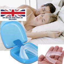 NHS SNORE STOPPER ANTI SNORING MOUTH GUARD DEVICE SLEEP AID STOP APNOEA UK POST
