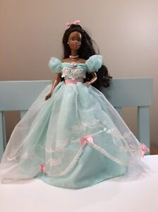Birthday Wishes Barbie Doll African American Collector Edition 2nd in a Series