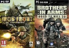 Iron-Front - Liberation 1944 & brothers in arms road to hill 30   new&sealed