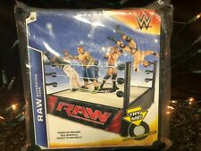 NEW MATTEL WWE RAW SUPERSTAR RING SPRING LOADED MAT TENSION ROPE W015 P9600
