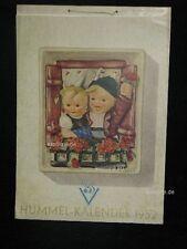 Goebel Hummel Kalender Calendar 1952