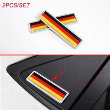 Chrome Truck Badge Deutschland Germany Flag Logo Emblem Sticker Decal Accessory