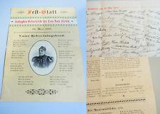 """""""Zum schwarzen Kameel"""" (WIEN): Festschrift 1898 zum 70. Geburtstag ROSA STIEBITZ"""