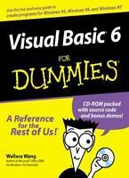 Visual Basic 6 For Dummies,Wallace Wang