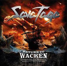 SAVATAGE - RETURN TO WACKEN  CD NEU
