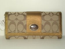 Coach Sutton Signature Slim Envelope Wallet 44001