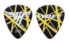 Van Halen Wolfgang Van Halen Black/Yellow Frankenstrat Guitar Pick - 2012 Tour