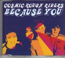 (BM759) Cosmic Rough Riders, Because You - 2003 CD