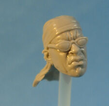 """MH249 Custom Cast Sculpt part Male head cast for use with 3.75"""" action figures"""