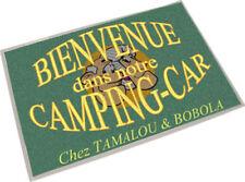 PAILLASSON TAPIS TAMALOU CAMPING CAR PERSONNALISABLE