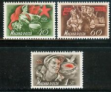 HUNGARY-1952.- Labor Day Cpl.Set MNH!!