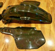 KAWASAKI KX 500 1988 2004 UFO BLACK REAR END Plastic fender mudguard KX500 250