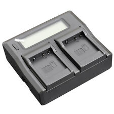 LCD Quick Battery Charger For Panasonic DMW-BLE9 Lumix  DMC-GF5 GX7 DMC-LX100