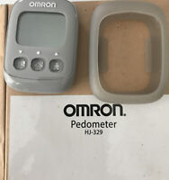 Omron Alvita Ultimate Pedometer, HJ-329, New, Gray
