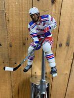 New York Rangers Tap Handle Eric Lindros NHL Hockey Beer KEG White Jersey