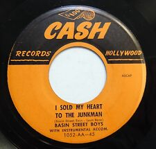 BASIN ST BOYS 45 I sold my heart to the junk man / C.BROWN (Flip) CASH R&B w2336