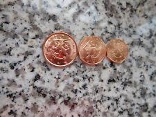 Finnland 1, 2 + 5 Cent Münzen Euro Münze Neu Euromünzen Für Sammler Finland Top