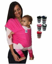 New Baby Sling Stretchy Adjustable Wrap Carrier Pouch Infant Birth Breastfeeding
