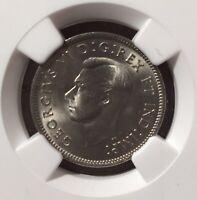 1942 CANADA 5 CENTS NGC MS 65 - NICKEL - Top Pop!!! - TRENDS $600