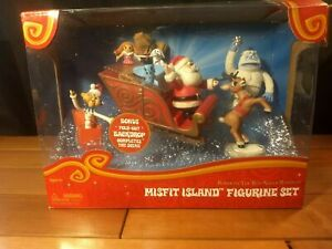 Forever Fun - Rudolph Island of Misfit Toys Figurine Set Abominable Snowman RARE