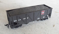 Vintage 1980s HO Scale Reading Lines Coal Car with Load