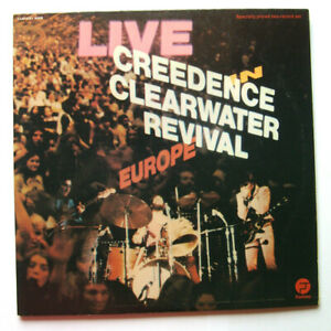 CREEDENCE CLEARWATER REVIVAL - Live Europe - 2/2 - Fantasy - TBE