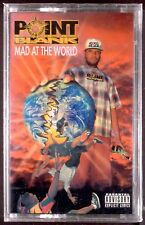 Point Blank-Mad At The World LP CASSETTE BIGTYME RAP 1994 SEALED OOP