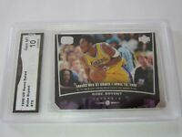 Kobe Bryant 1998 Upper Deck Ud  Gem MT 10 Grade #75  basketball card