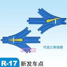 Japan Takra Tomy Thomas Blue Rail Parts R-17-2 New Three Way Rail 805335