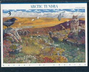 D125825 Arctic Tundra Nature MNH Sheetlet USA Face 3.70$