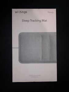 Withings WSM02ALLUS Sleep Tracking Mat with Heart Rate - Gray