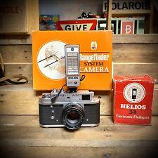 Boxed Zorki 4k Rangefinder Vintage Camera W/ Jupiter 8 Lens Retro Lomo Working