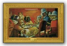 ART PRINT POSTER Dogs Busted C M Coolidge 36x24 NMR