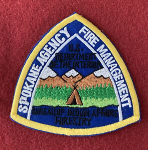 SPOKANE AGENCY FIRE MANAGEMENT BUREAU INDIAN AFFAIRS FORESTRY BIA WASHINGTON WA