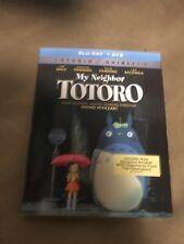 My Neighbor Totoro (Blu-ray/DVD, 2-Disc Set, 2017) BRAND NEW with Slip Cover